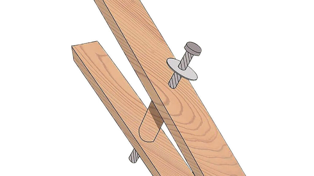 how to make crutches easily